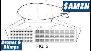 PATENT Drones & Blimps From Amazon