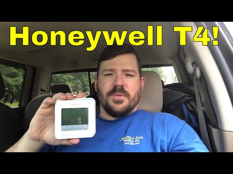 Honeywell T4 thermostat complete review from a HVAC technician
