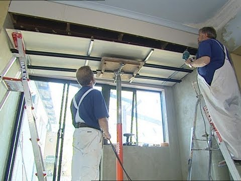 How To Install Metal Furring Channel Ceiling Youtube