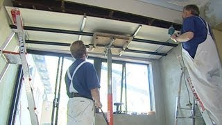 How to Install Metal Furring Channel Ceiling