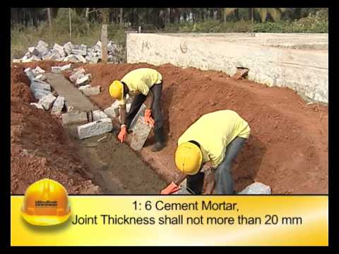 Stone Masonry Footing