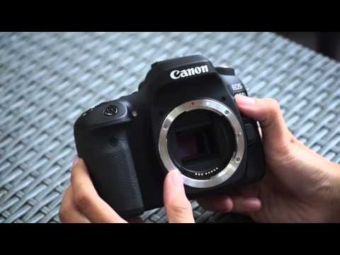 Trên tay Canon EOS 80D