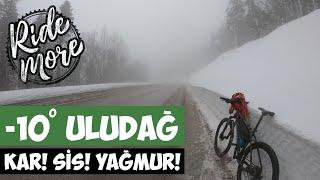 İstanbul - Bursa ( Uludağ Zirve ) Dağ Bisiklet Uzun Tur Mtb | Ride More Vlog 4