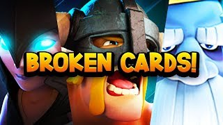 Top 7 Most GAME BREAKING Cards in Clash Royale History!