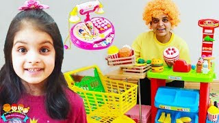 Ashu and Friends Party Kids Supermarket Toys