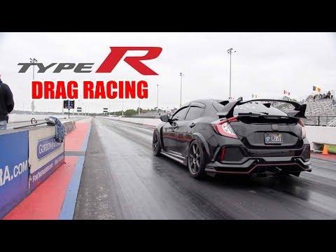 FK8 Honda Civic Type R Drag Racing - FAST DAILY!
