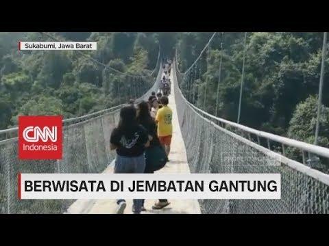 Uji Nyali, Berwisata di Jembatan Gantung