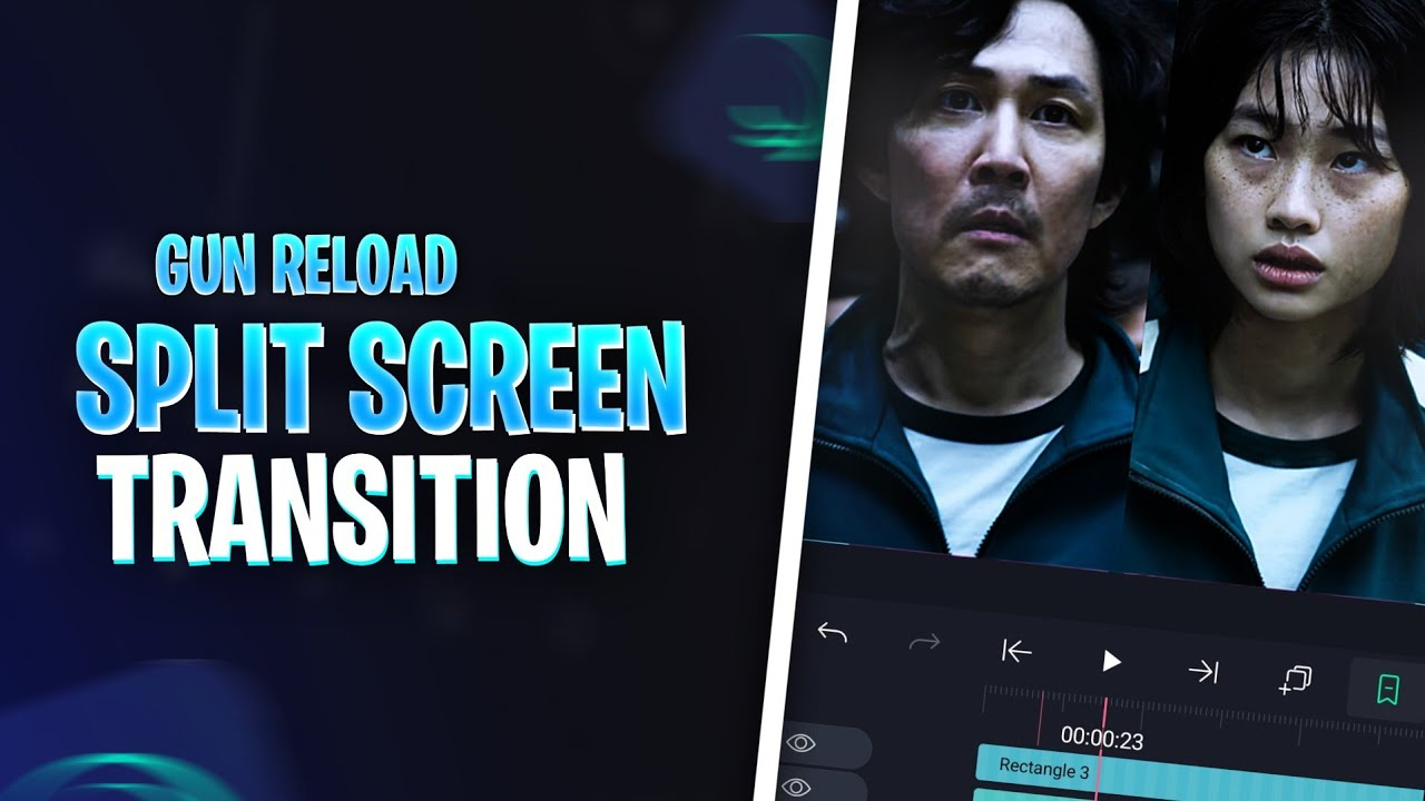Split screen Transition with Gun🔫 Reload sound effect🔥 | Alightmotion Transition Tutorial Malayalam