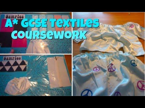 A* GCSE textiles coursework