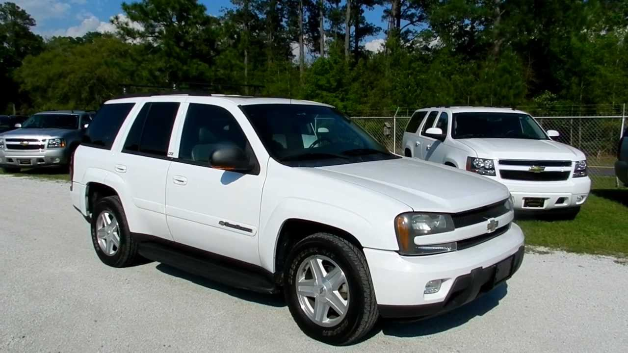 2002 chevrolet trailblazer full review for sale charleston sc stock 12c160a youtube. Black Bedroom Furniture Sets. Home Design Ideas