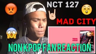 non kpop fan reaction to nct 127 mad city lyric video