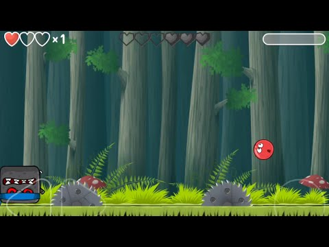 Red Ball 4   Deep Forest   Level 28 - Level 30   Beating Boss  
