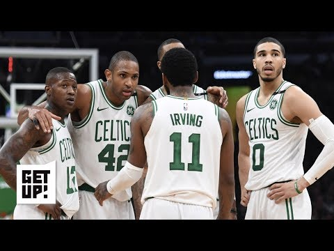 The Celtics cant wait for Kyrie Irving to leave and will help pack his bags - Jalen Rose | Get Up!