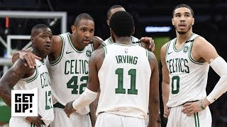 The Celtics can\'t wait for Kyrie Irving to leave and will help pack his bags - Jalen Rose | Get Up!