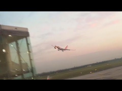 Air Berlin pilot investigated after making a low pass by Duesseldorf Airport