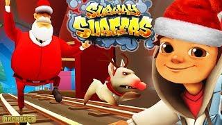 Subway Surfers Christmas NEW Update 2017 - Saint Petersburg Full Screen Gameplay