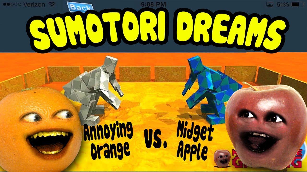 sumotori dreams midget apple vs annoying orange youtube
