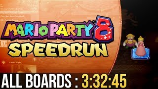 [WR] Mario Party 8 All Boards Speedrun in 3:32:45 (Normal)