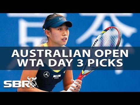 2017 Australian Open | Picks of the Day - WTA Women's Singles | Day 3