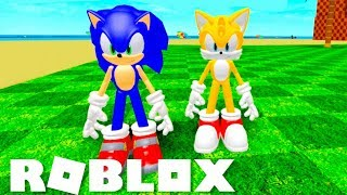 I created TAILS on SONIC's ROBLOX