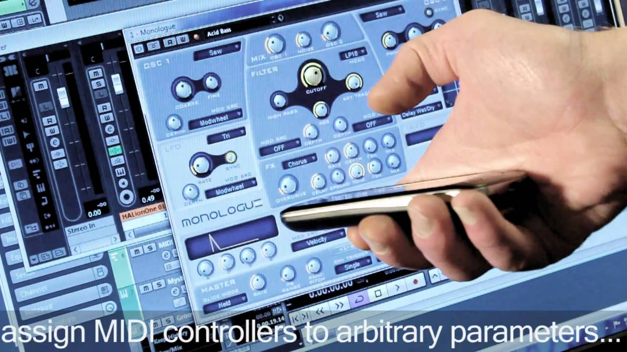 TouchDAW - DAW controller and MIDI utilities for Android™