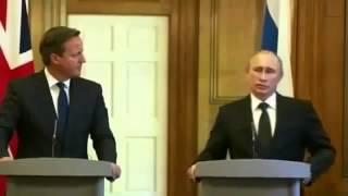 В.В.Путин УНИЗИЛ - Кэмерона и всю Америку!!! 2014
