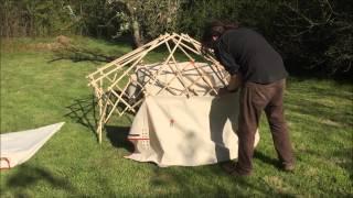The Pop Up Yurt!