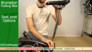 Brompton folding bike - Seat posts