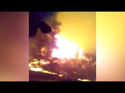 Men narrowly escape Ute Park fire in northern New Mexico