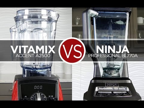 Chef Austin's Review: Vitamix VS Ninja