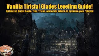 Undead Starting Zone/Tirisfal Glades optimized leveling guide! (1-13) [World of Warcraft: Classic]