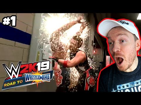 Kip Clips ROAD TO WRESTLEMANIA Part 1 (WWE 2K19) |