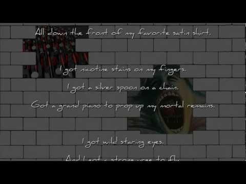 (instrumental) Nobody Home - Pink Floyd w/Lyrics (432hz tuning)