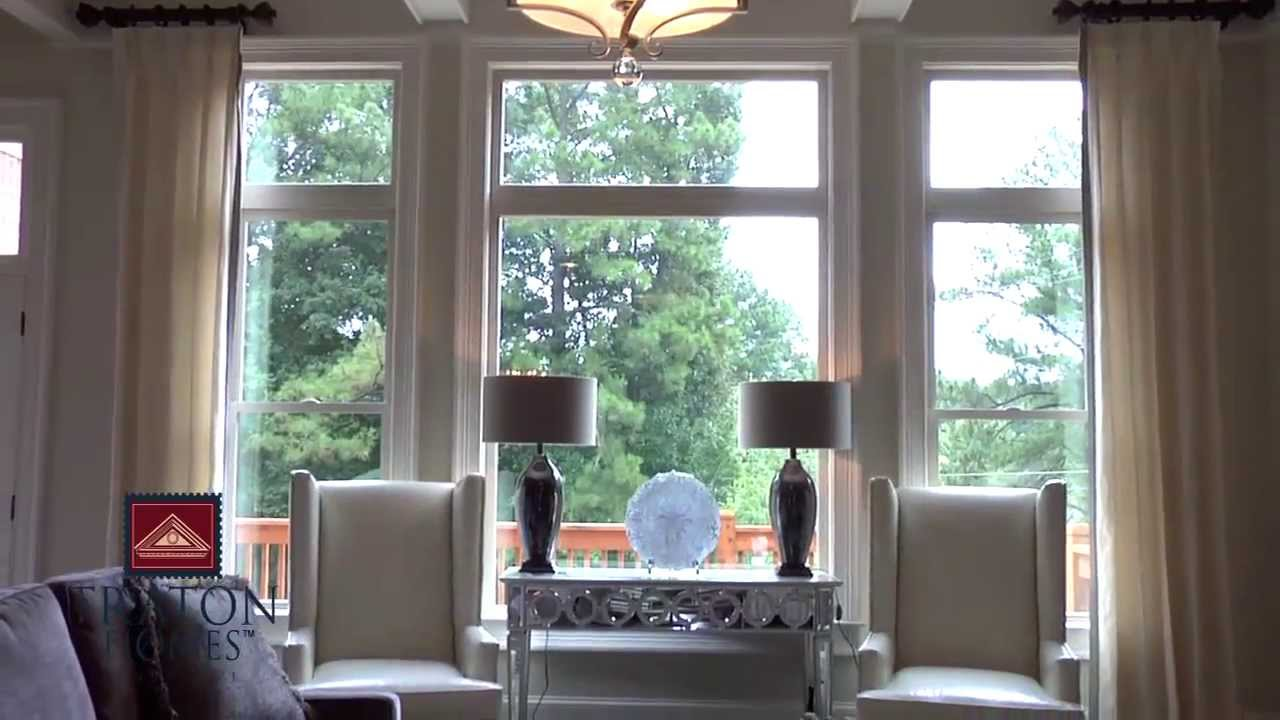 see a beautiful decorated model home youtube. Black Bedroom Furniture Sets. Home Design Ideas