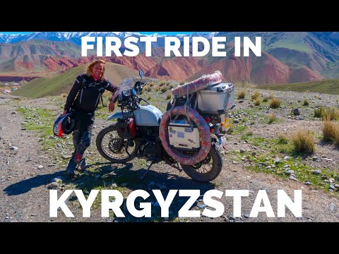 [Eps. 80] FIRST RIDE in Kyrgyzstan- Royal Enfield Himalayan BS4