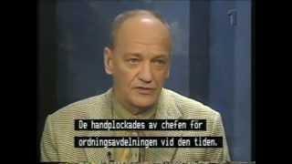 Palmemordet feb 1996 Utfrågningen - SVT Striptease/Norra Magasinet Special