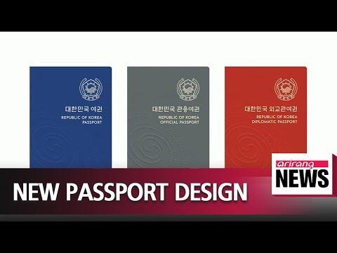 S. Korea reveals proposed new passport designs