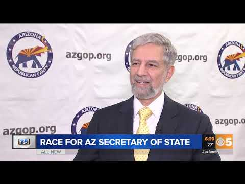 VIDEO: Race to become Arizona's next secretary of state is tight