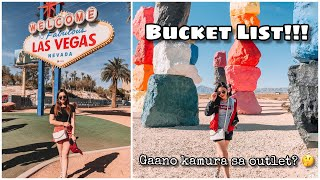 Las Vegas Travel Vlog + USA Outlet Shopping (USA Vlog 🇺🇸)