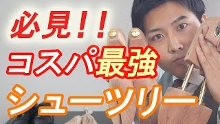 【高コスパ】おすすめシューツリーを紹介します!! thumbnail