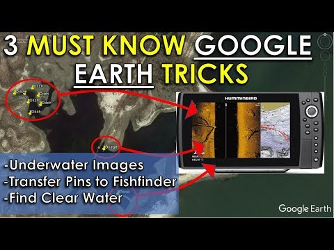 Instantly Become A Better Bass Fisherman With These Google Earth Tricks | Fish Finder Tips