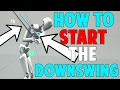 How to Start Your Downswing in Golf (