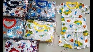 Bán buôn quần áo trẻ em giá sỉ rẻ 25K/BỘ Đồ Cotton 100% - Xưởng May HCM