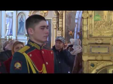 В Новосибирске состоялся молебен у главной иконы Вооруженных сил России «Спас Нерукотворный».