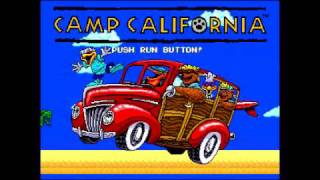 Camp California Intro: TurboGrafx-16 CD