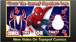 Guess The Correct Superhero Logo - Marvel - DC - New Video On New Channel