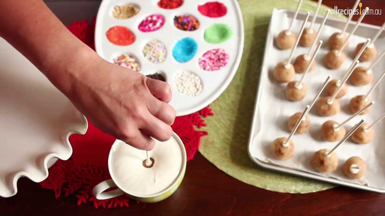 Easy Cake Pop Recipe Nz