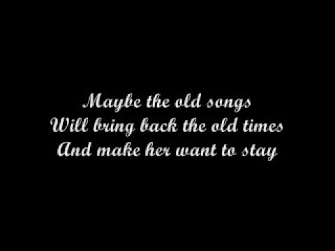 THE OLD SONGS with lyrics -Barry Manilow
