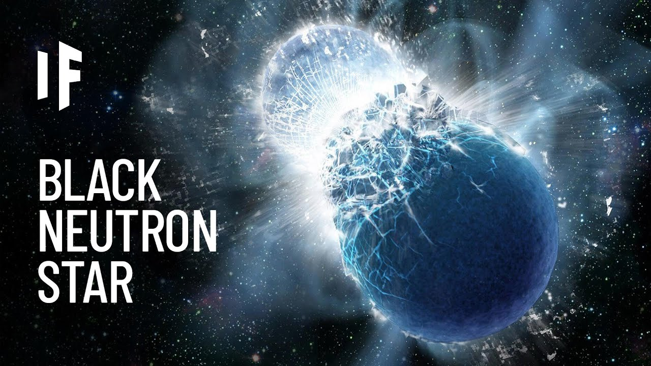 What If a Black Neutron Star Entered the Solar System?