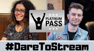 WIN a PLATINUM PASS with #DareToStream